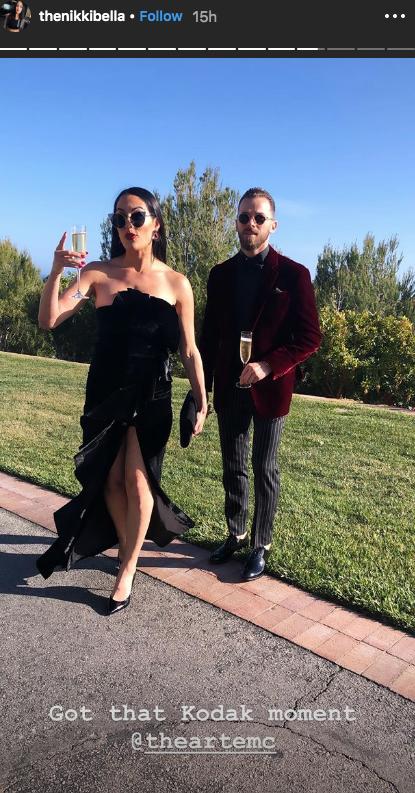 Nikki Bella Artem Chigvintsev DWTS wedding dates