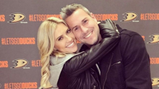 Christina and Ant Anstead hugging baby details pregnant