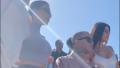 Kim Kardashian Marcus Hyde Kourtney Kardashian coachella kanye west sunday service