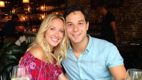 Skylar Astin with Anna Camp
