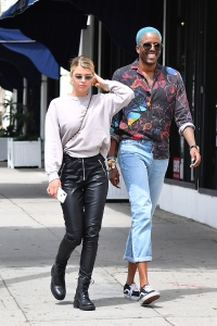 Sofia Richie walking with a friend in L.A.