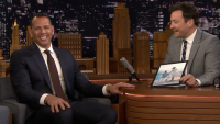 Alex rodriguez on The Tonight Show Starring Jimmy Fallon