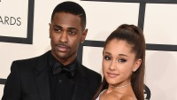 ariana grande and big sean at the 2015 grammys