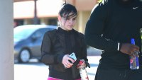 Ariel Winter in workout clothes in LA