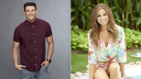 Blake Horstmann bachelor headshot and Kristina Schulman Bachelor in Paradise headshot