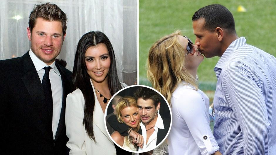 ex celeb couples