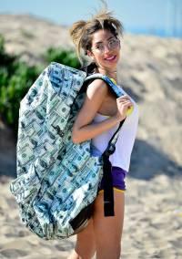 farrah abraham money bag