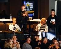 Justin Bieber and Hailey Baldwin Hockey Game