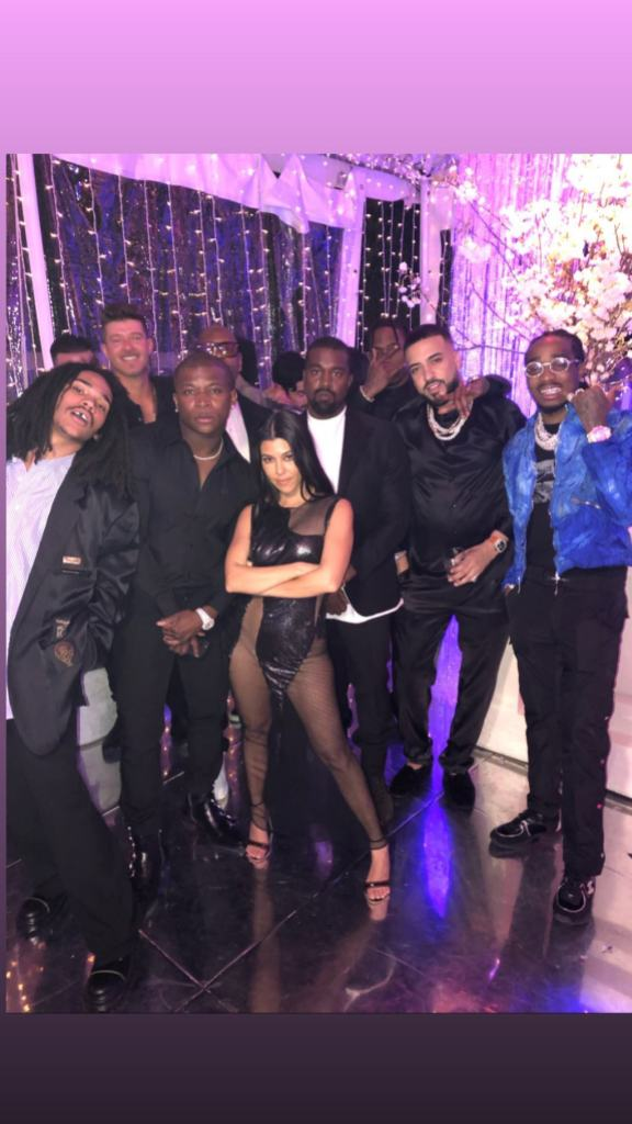Kourtney Kardashian with a Lot of Men at Her Birthday Party
