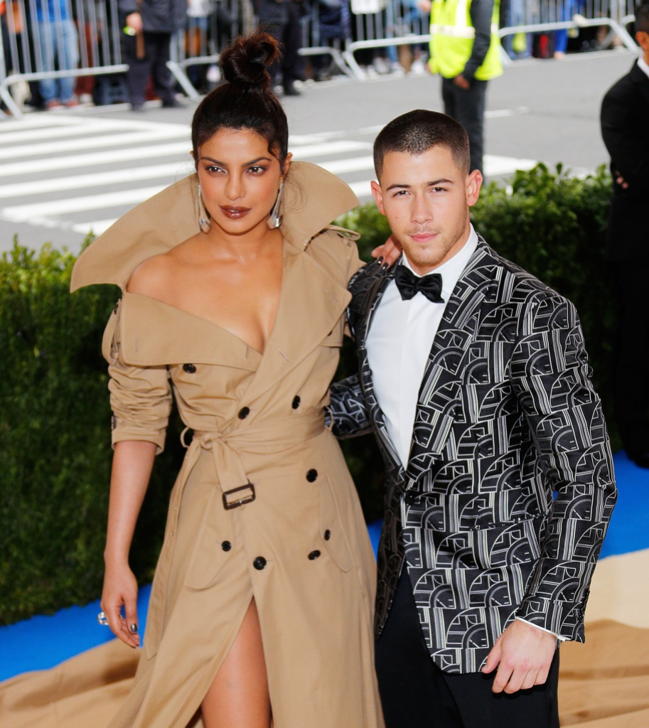 Priyanka Chopra and Nick Jonas at the 2017 Met Gala