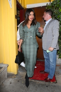 priyanka chopra nick jonas dinner holding hands west hollywood