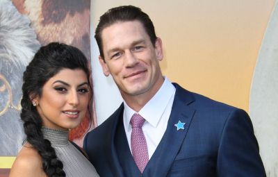 John Cena Wears Blue Suit on Red Carpet for Dolittle With Girlfriend Shay Shariatzadeh