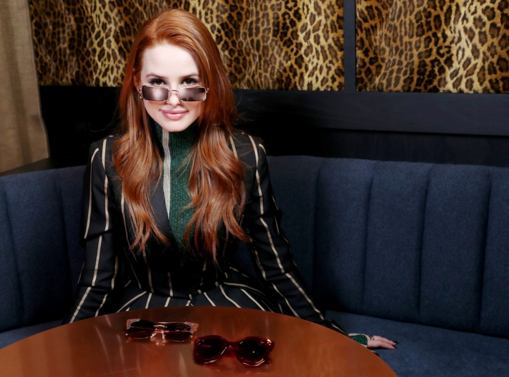 Madelaine Petsch Wearing Prive Sunglasses