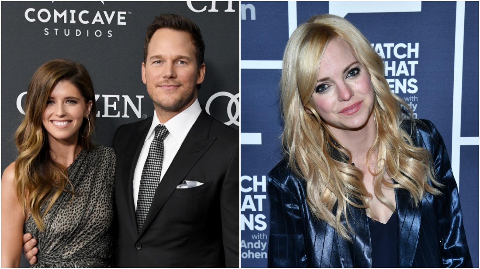 Katherine Schwarzenegger Admires Chris Pratt's Ex Anna Faris