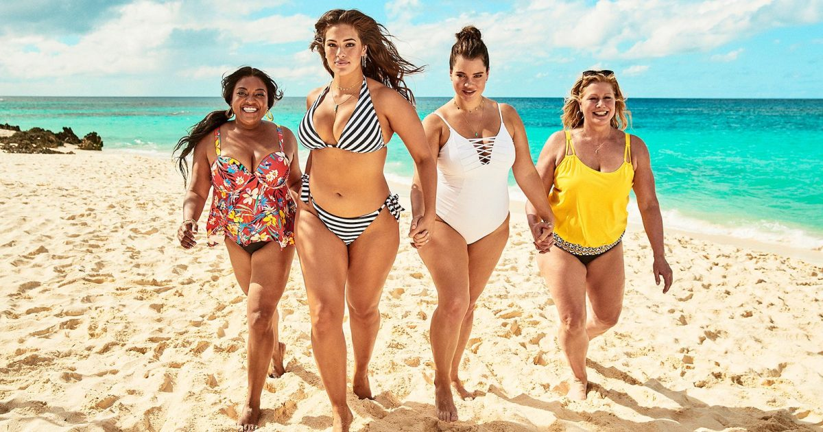 3fb32a2ade8 Ashley Graham Flaunts Her Awesome Curves in a Steamy New Shoot for Her  Swimsuits For All Line