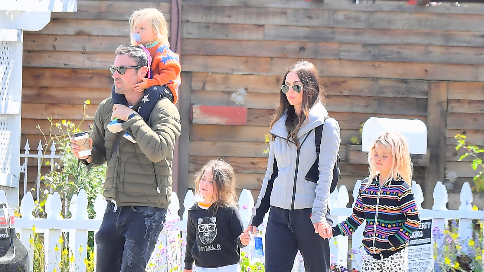 One Big Happy Fam! Megan Fox and Brian Austin Green Head to Target With the Kids