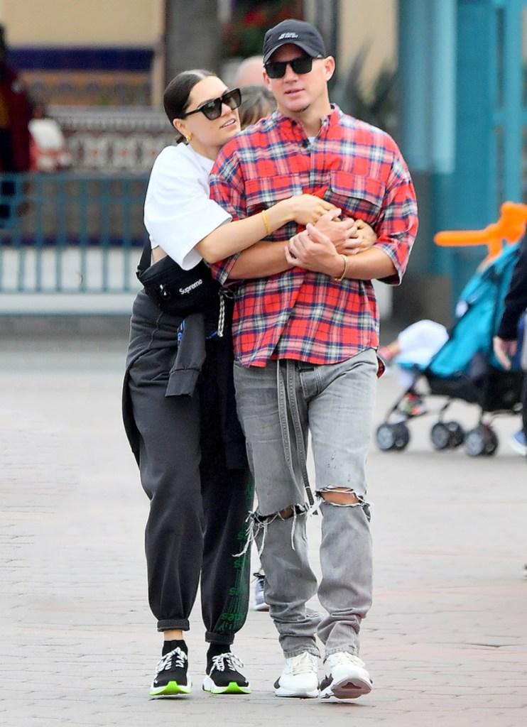 Channing Tatum Jessie J PDA