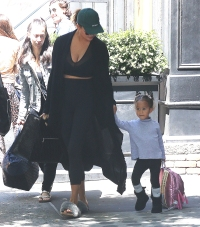 2862159b082 Chrissy Teigen and Daughter Luna Photos in NYC Without John Legend