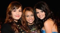 Demi Lovato Miley Cyrus Selena Gomez