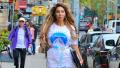 Farrah Abraham, NYC, Holographic pants