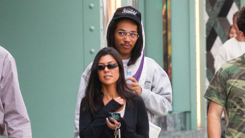 Kourtney Kardashian Luka Sabbat dating relationship romance friends