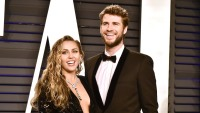 Miley Cyrus Liam Hemsworth party in the usa met gala red carpet marriage relationship