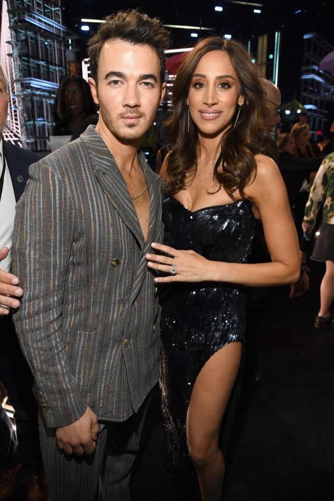 Danielle Jonas Kevin Jonas 2019 Billboard Music Awards red carpet