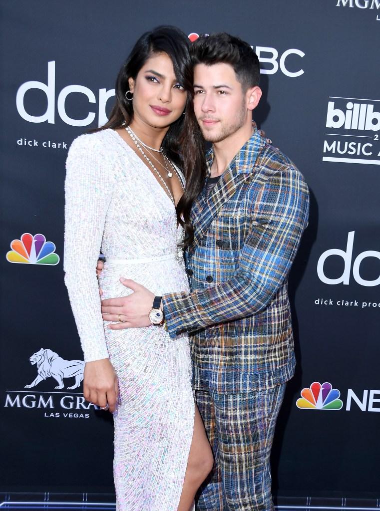 Priyanka Chopra Nick Jonas 2019 Billboard Music Awards red carpet