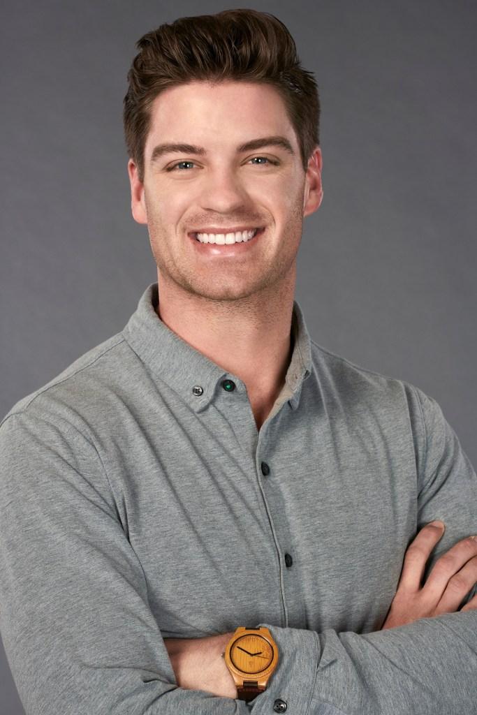 Garrett Powell on the Bachelorette