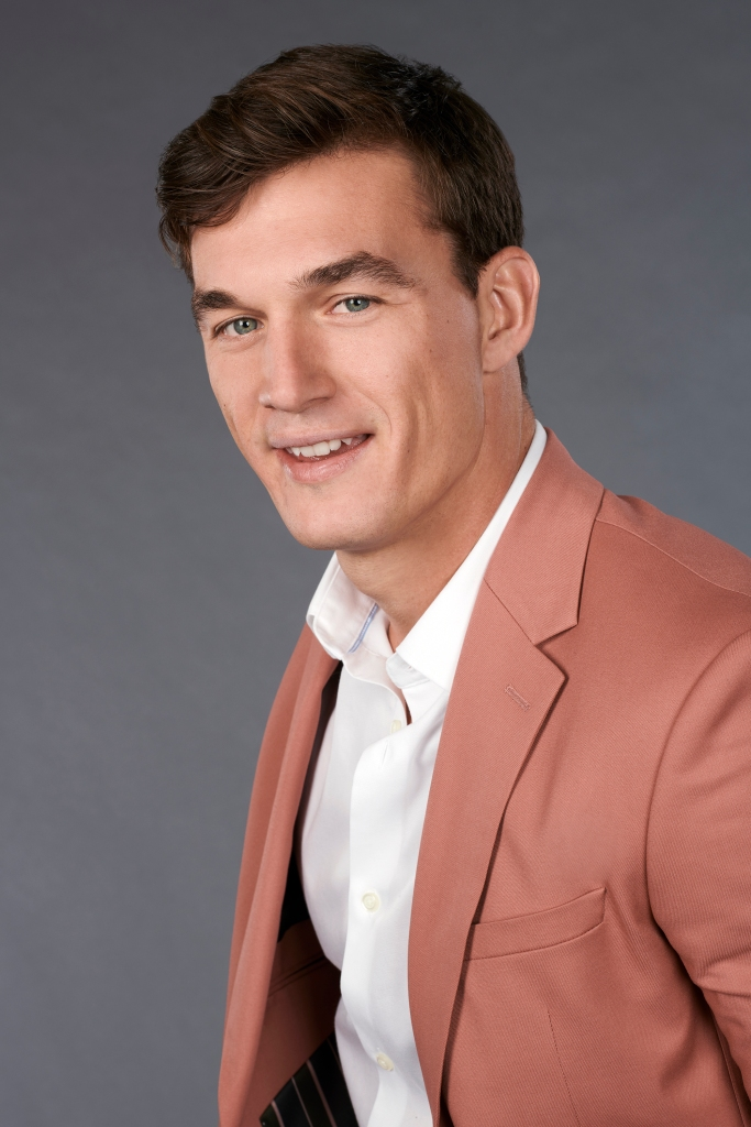 Tyler C. the bachelorette hannah brown florida contestant football player model