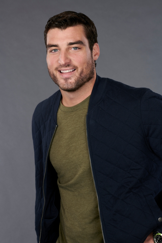 Tyler G. Bachelorette contestant removed from show hannah brown spit on a girl