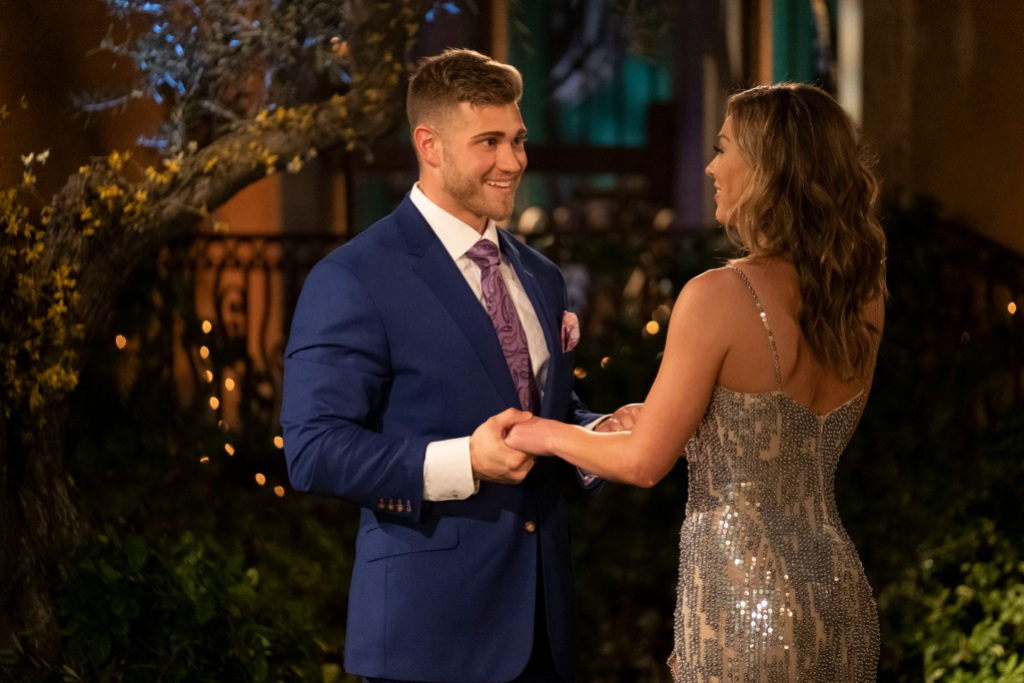bachelorette Luke P. Hannah Brown first impression rose bachelor engaged