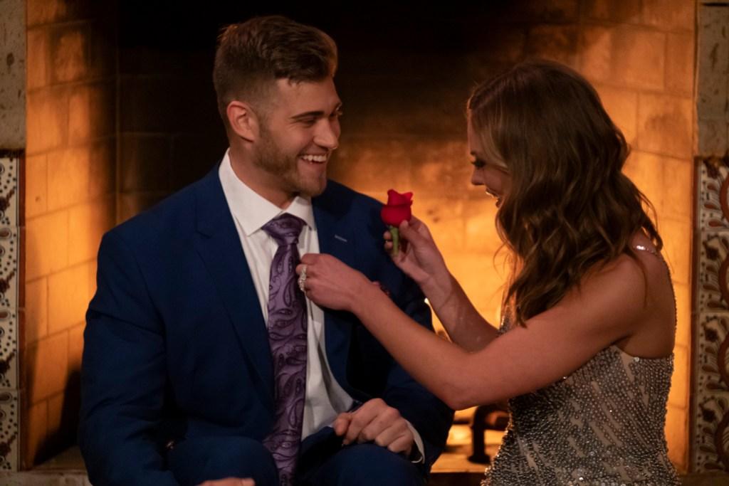 Hannah Brown Luke P. bachelorette contestants first impression rose bachelor spoilers engagement final rose