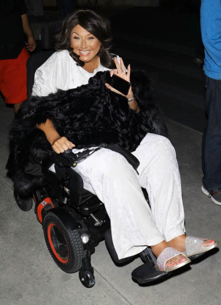 Abby Lee Miller wheelchair cancer health update