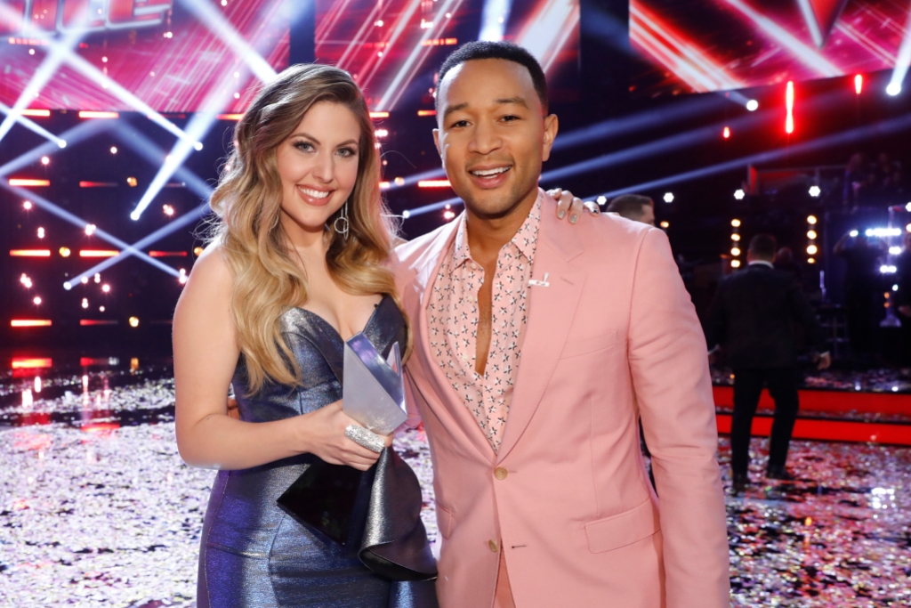 Who Won The Voice Maelyn Jarmon And John Legend Win
