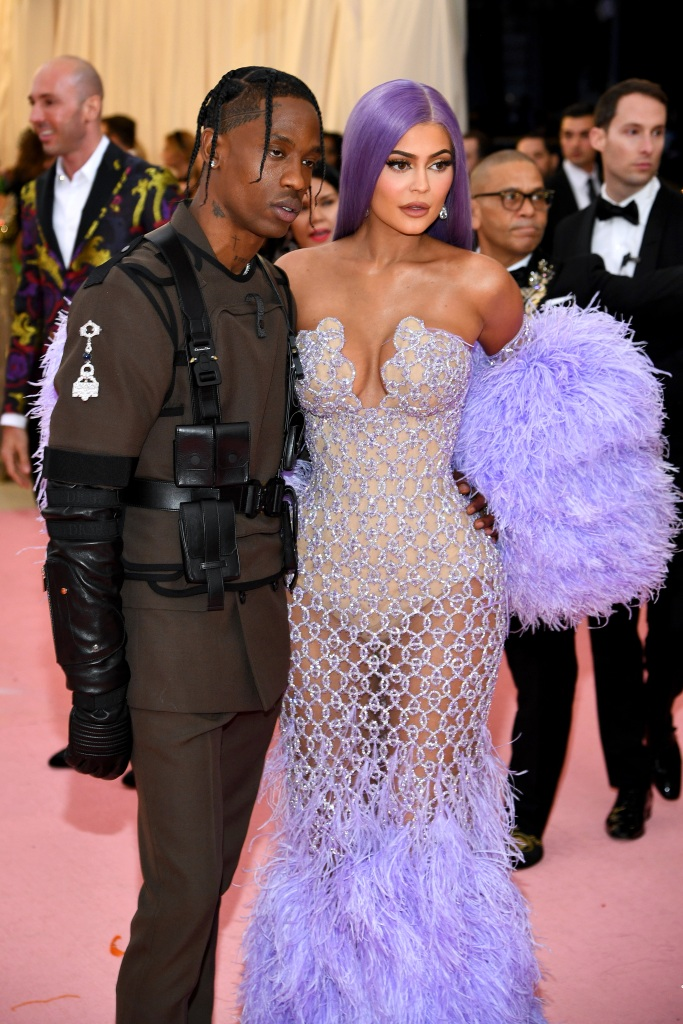 Kylie Jenner And Travis Scott 2019 Met Gala Outfits See Pics