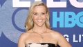 Reese Witherspoon strapless dress green necklace legally blonde 3 details big little lies premiere