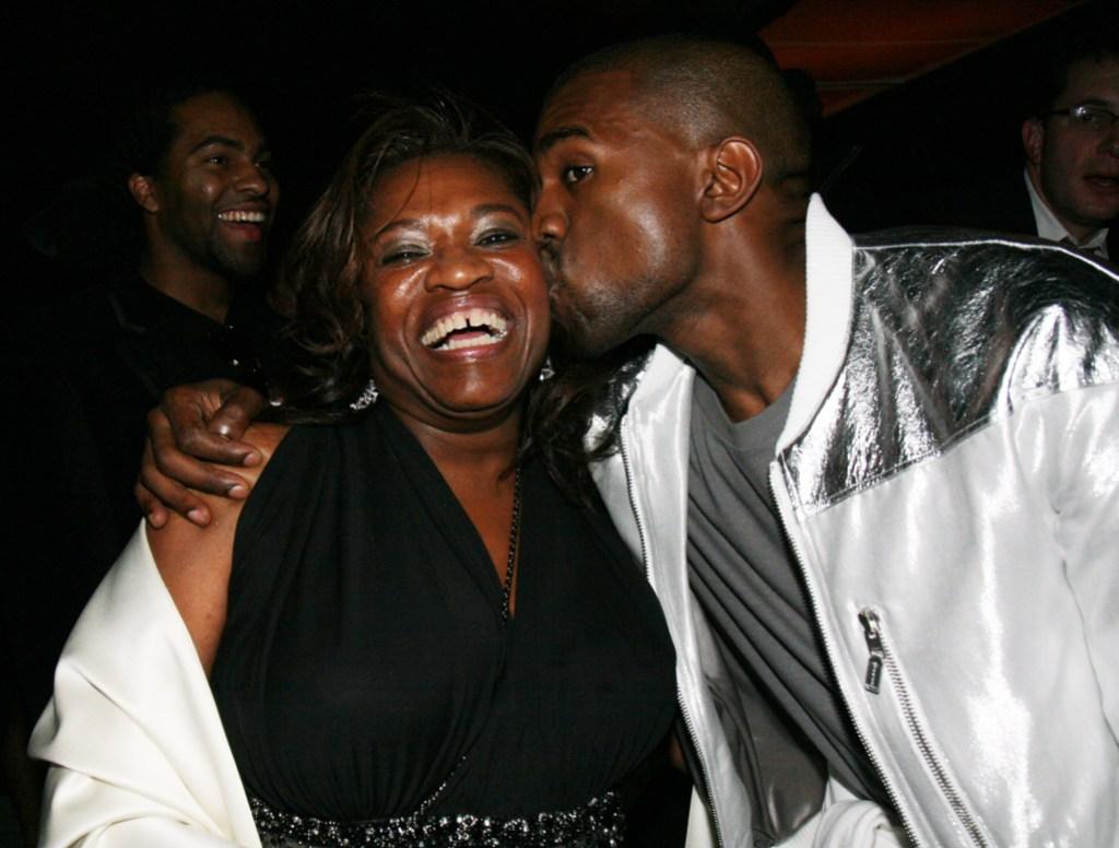 Kanye West Donda West relationship kanye mother death