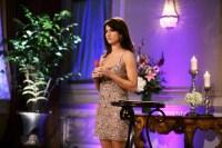 Jillian harris THE BACHELORETTE season 5 sparkly short dress brown hair