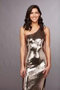 Becca Kufrin bachelorette gold dress garrett