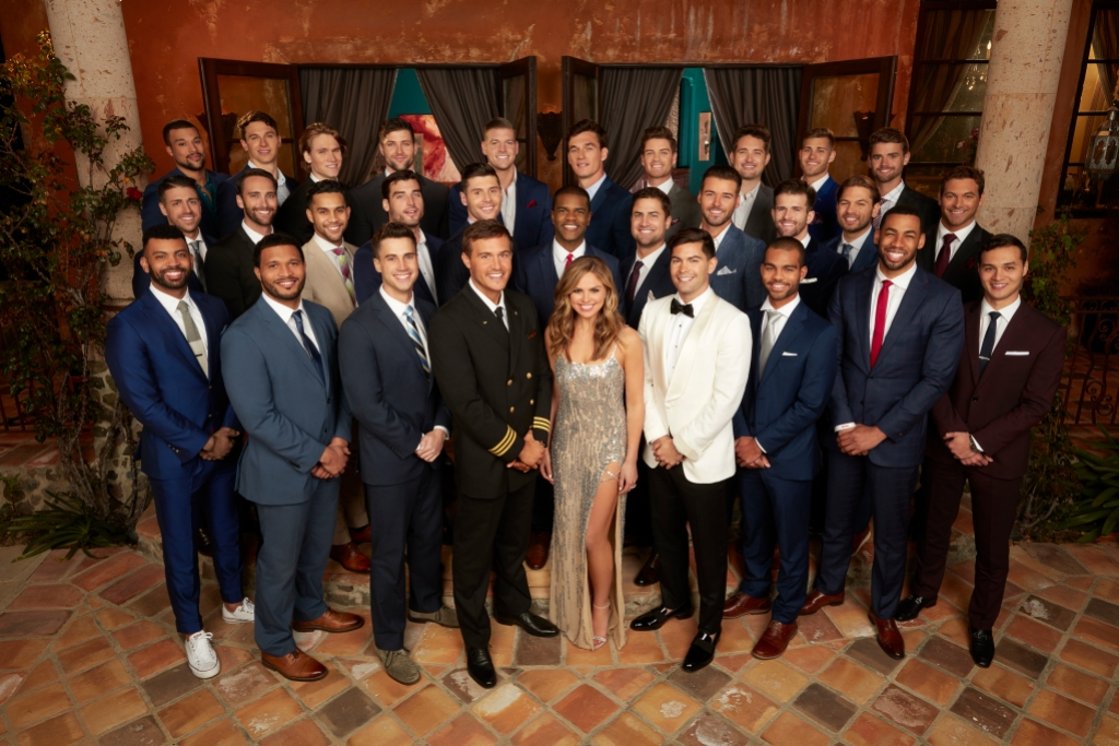 Hannah Brown With Her Men on The Bachelorette