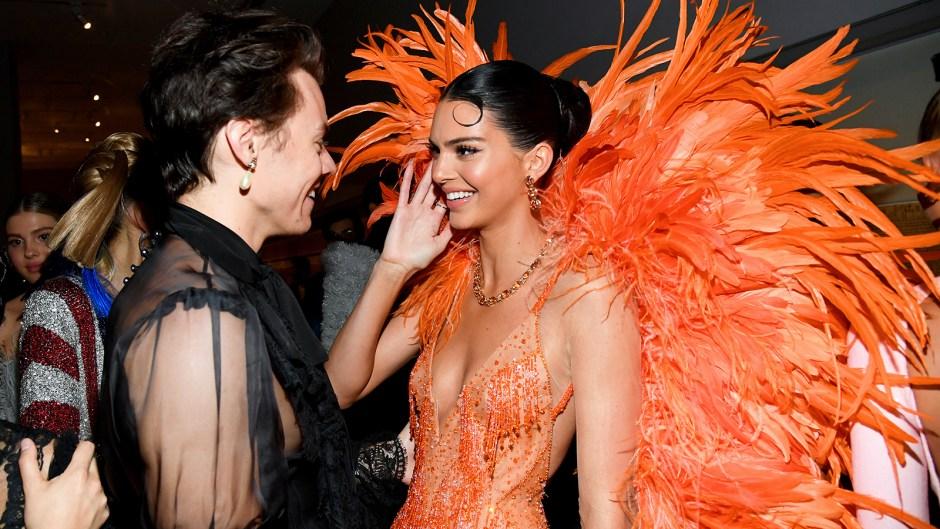 Harry Styles Kendall Jenner Reunited Met Gala 2019
