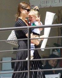 Irina Shayk Daughter Art Class LA