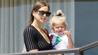 Irina Shayk Daughter Art Class LA