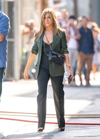 Jennifer Aniston Green Blazer