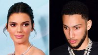 KENDALL JENNER AND BEN SIMMONS SPLIT