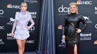 Taylor swift kelly clarkson billboard music awards 2019 red carpet