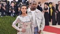 Kim Kardashian, Kanye West, 2016 Met Gala