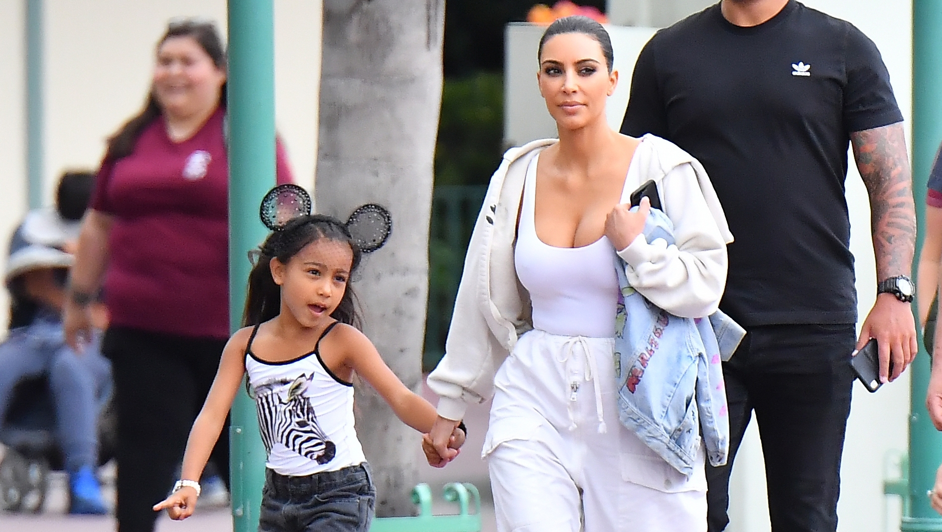 North West, Kim Kardashian