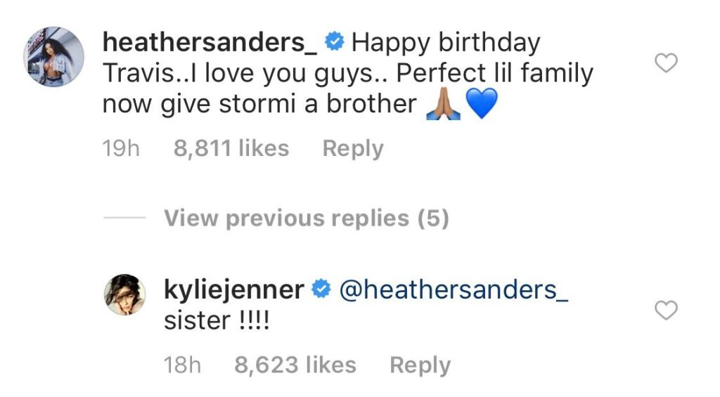 Kylie Jenner's Instagram Comments